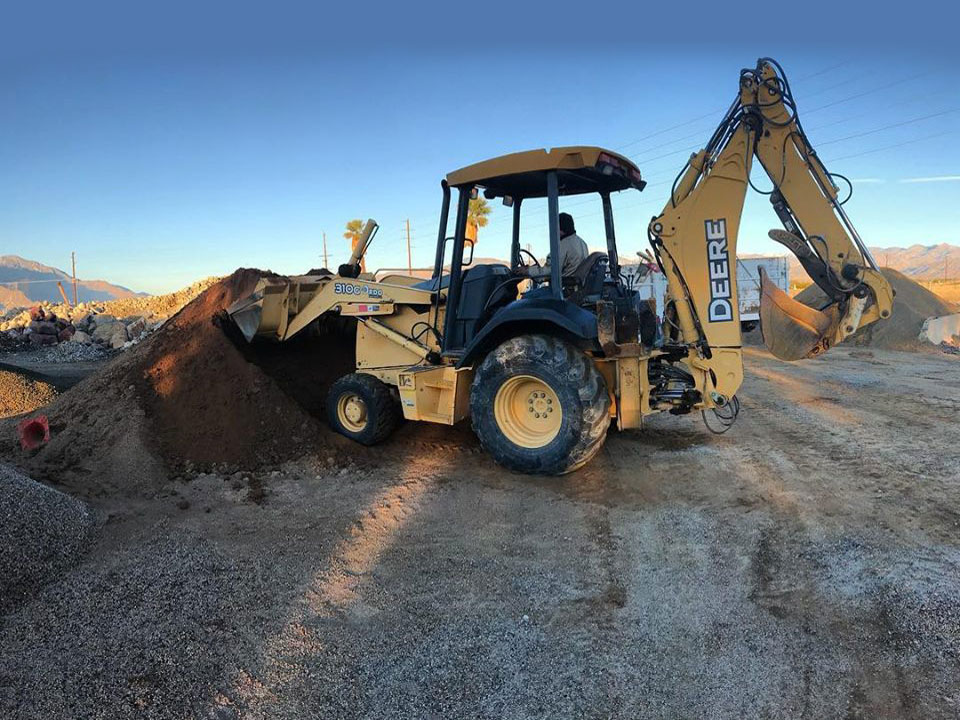 landscape rock delivery in tucson and marana